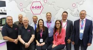 A-Gas stand team